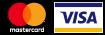 Logo visa og mastercard